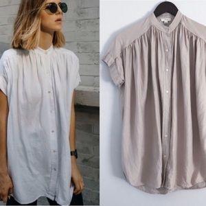 Wilfred bertilon blouse sz xxs in ashen lavender